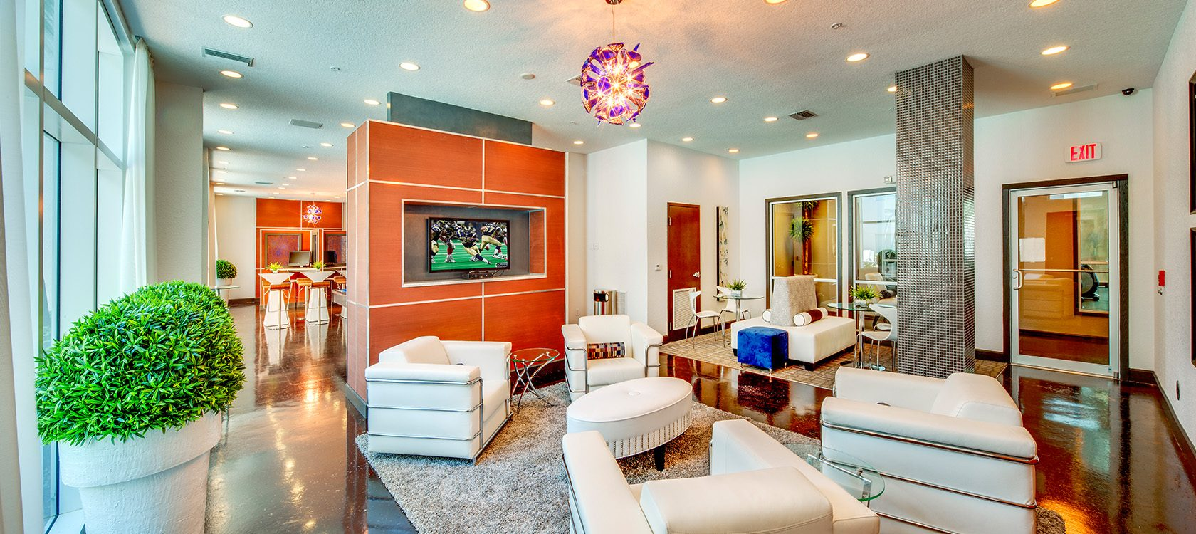 Bell Channelside apartments clubhouse
