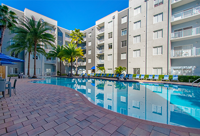 Bell Channelside apartments pool